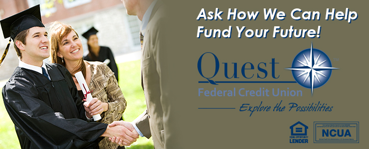 Let us help you fund your higher education!