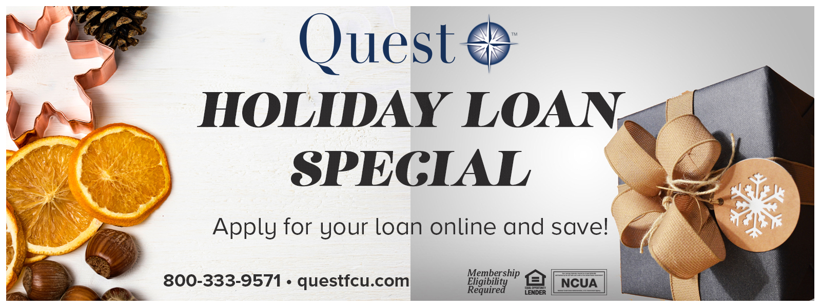 Holiday Loan Banner