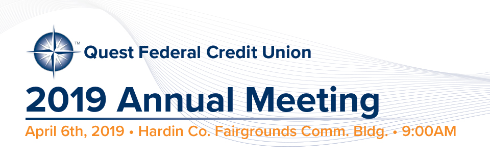 2019 Annual Meeting - Quest Federal Credit Union
