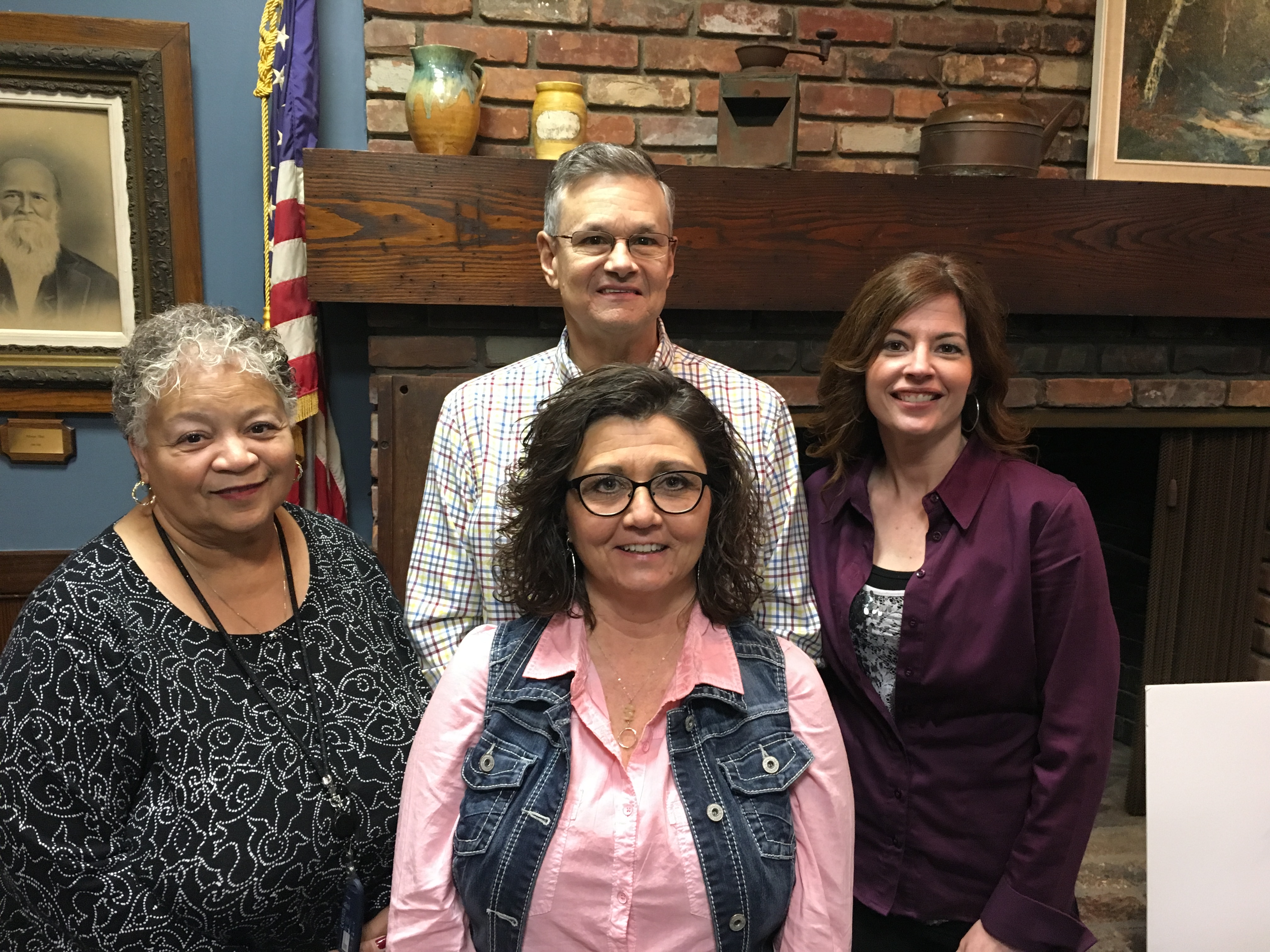 Re-elected board and committee members
