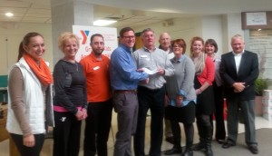 Quest Federal Credit Union helps with capital contribution to Hilliker YMCA.