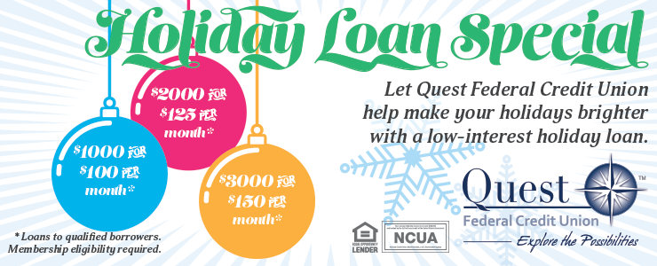 Holiday Loan Special!